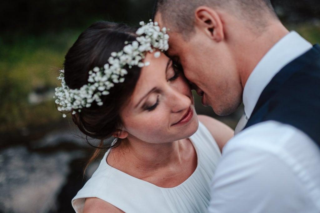Hochzeitsfoto in Südtirol, Paarshooting, Braut, Bräutigam, Hochzeitsfotograf