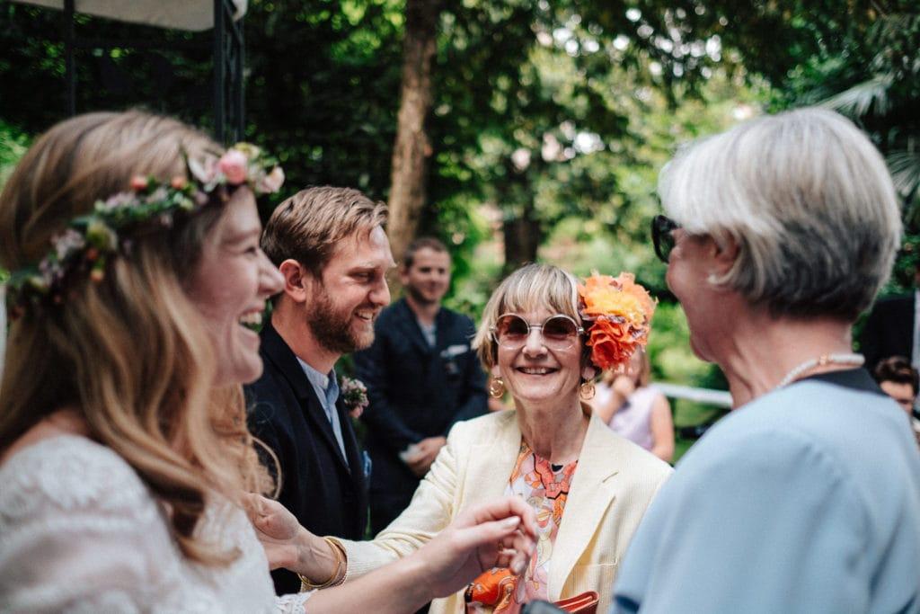 englische Hochzeit auf Schloss Pienzenau
