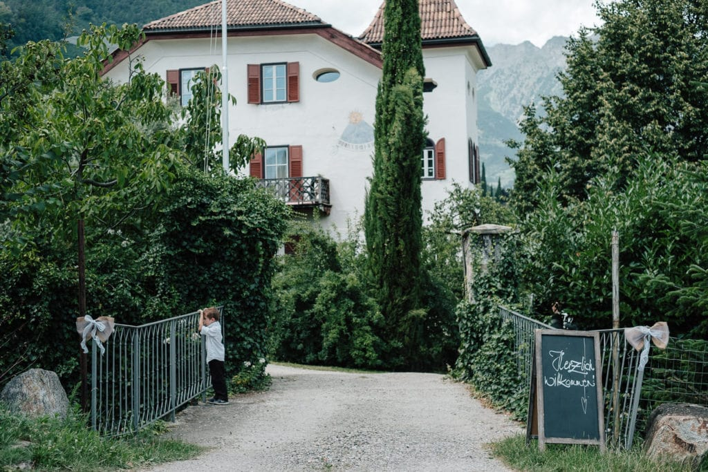 Südtirol - Sommerhochzeit auf dem Lahnerhof